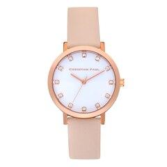 Christian Paul Bondi Luxe Watch, 35MM - Rose Gold & Peach