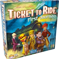 Ticket to Ride® Board Game First Journey