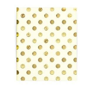 Kate Spade New York® Spiral Notebook - Gold Dots