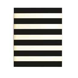 Kate Spade New York® Spiral Notebook - Black Stripe