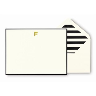 Kate Spade New York® Monogram Cards - F