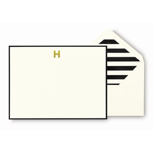 Kate Spade New York® Monogram Cards - H
