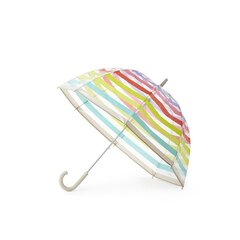 Kate Spade New York® Umbrella (Clear), Multi Stripe