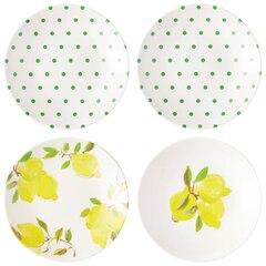 Kate Spade New York© Lemon Melamine Tidbit Plate – Set of 4