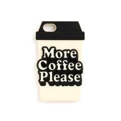 ban.do silicone iPhone 7 case - more coffee please