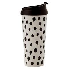 Kate Spade New York® Thermal Mug – Flamingo Dot