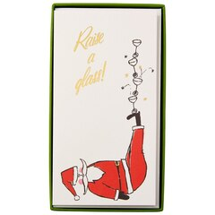 Jolly Santa Boxed Cards, Set of 10