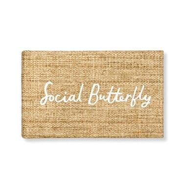 kate spade new york small photo album social butterfly