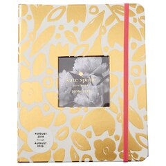 2018-2019 Academic KSNY Large Agenda - Gold Floral