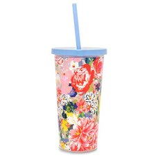 BANDO SIP SIP TUMBLER WITH STRAW FLOWER SHOP