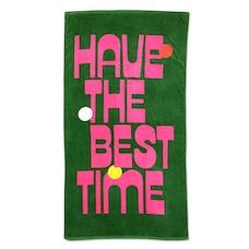 BANDO BEACH, PLEASE! GIANT TOWEL - BEST TIME