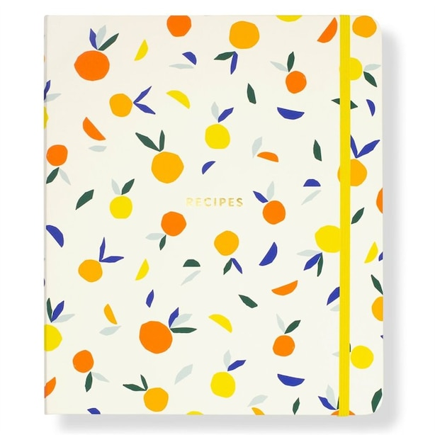 Kate Spade Citrus Twist Recipe Book