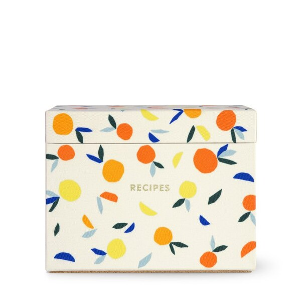 Kate Spade New York Recipe Box, Citrus Twist