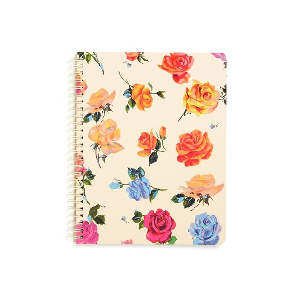 Rough Draft Mini Notebook Coming up Roses