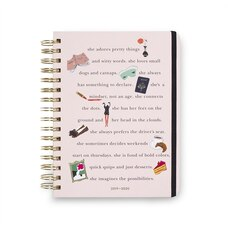 she statements large 17-month planner