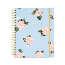 2019-2020 17-Month Large Classic Planner Blue Floral