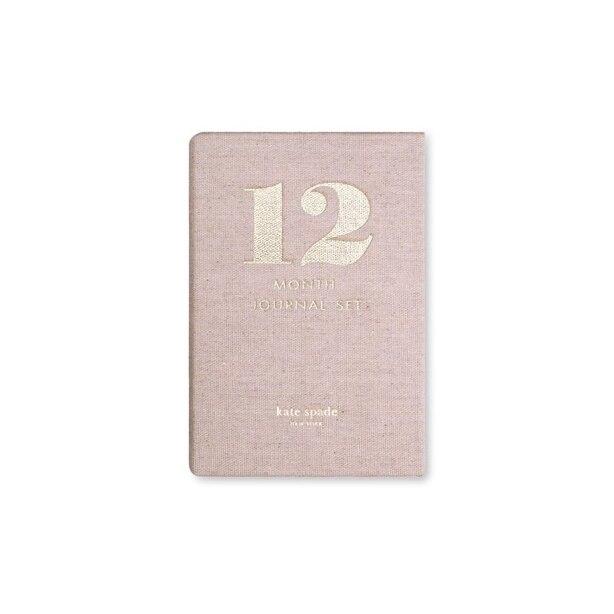 kate spade new york 12-month journal set