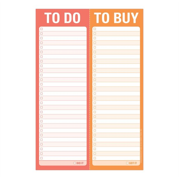 Perforated Pad Do/Buy