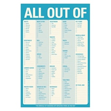 Bloc-notes 'All Out Of'