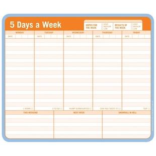 5 Days Mousepad