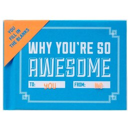 You're So Awesome Fill in Book