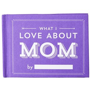 What I Love About Mom Fill in Book