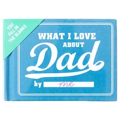 What I Love About Dad Fill in the Love™ Journal