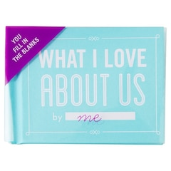 What I Love About Us Fill in Book