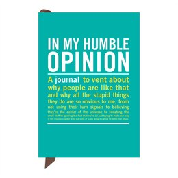 In My Humble Opinion Mini Inner Truth Journal