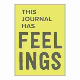 Knock Knock This Journal Has Feelings