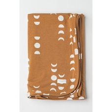 Loulou Lollipop Stretch Knit Blanket in TENCEL - Moon