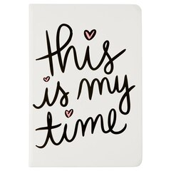 Journal Dayna Lee – This is my time, blanc