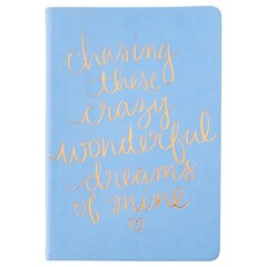 Chasing Dreams Small Notebook - Periwinkle