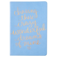 Petit carnet de notes Chasing Dreams — Pervenche