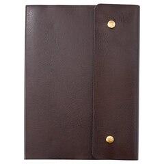 Dourble Snap Journal Dark Brown