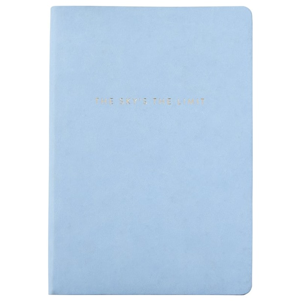 Small Journal Sky Is the Limit Light Blue