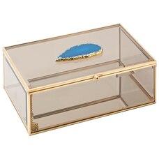 Smoked Glass Display Box Large