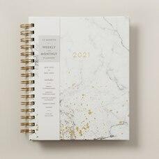 Agenda  –  Marbre 2021, 18x25 cm