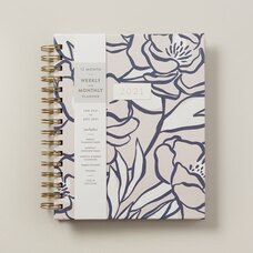 January - December 2021 Weekly & Monthly Peony Print Planner