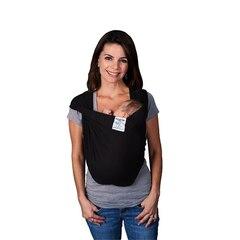 Porté-bébé Baby K'tan en coton – Noir, petit