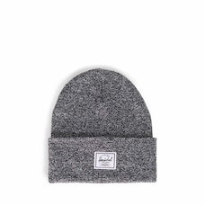 HERSCHEL ELMER BEANIE - HEATHER BLACK