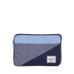 HERSCHEL ANCHOR SLEEVE FOR IPAD MINI - Chambray Crosshatch/Hydrangea/Peacoat