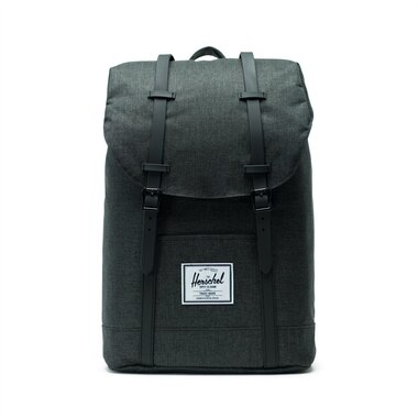 Herschel Retreat Backpack   Black Crosshatch/Black by Herschel Supply Co.