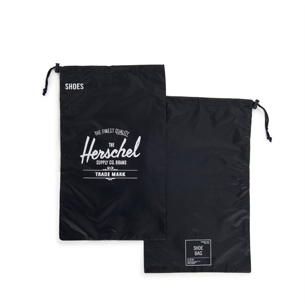 HERSCHEL SHOE BAG - BLACK