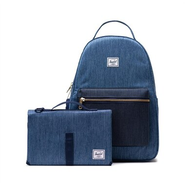Herschel Supply Co. Nova Sprout Diaper Backpack Faded Indigo Denim