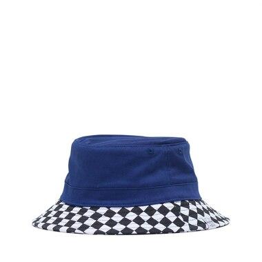 e5f0b355e5e4b Herschel Lake Youth Bucket Hat Small Medium Medieval Blue Checker by  Herschel Supply Company Ltd