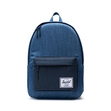 HERSCHEL CLASSIC XL BACKPACK - FADED DENIM/ INDIGO DENIM