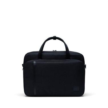 """Herschel Gibson 15"""" Laptop Messenger Bag Black"""