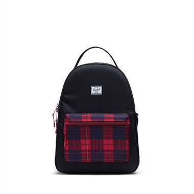 Herschel Supply Co. Nova Youth Kids Backpack Black Winter Plaid