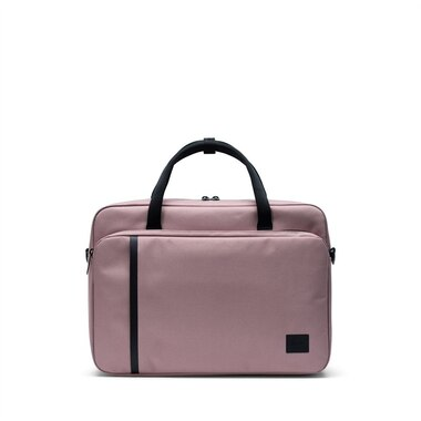 Herschel Gibson Laptop Messenger Bag Ash Rose